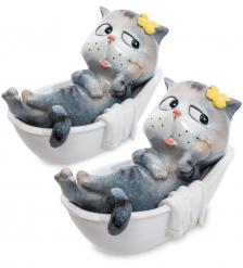 MN- 04 Комплект фигурок 2 шт. «Кот в ванной»