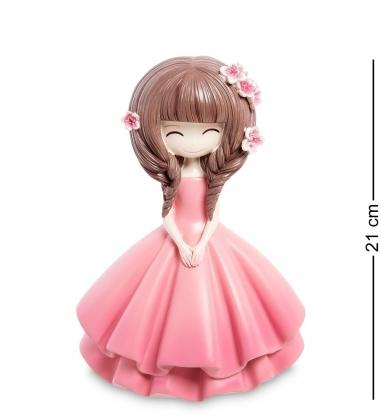 MF-04 Копилка маленькая Девочка в розовом платье