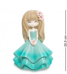 MF-06 Копилка маленькая  Девочка в голубом платье