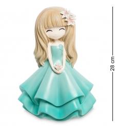 MF-10 Копилка средняя «Девочка в голубом платье»