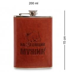 GT-31 Фляжка 200 мл Настоящий мужик