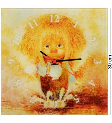 ANG-432 Часы «Ангел теплого дома» 30х30