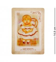 ANG-439 Открытка-ретро  Ангел чистой красоты  15х10,5