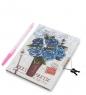 NB-12/2 Блокнот с ручкой Цветочное очарование