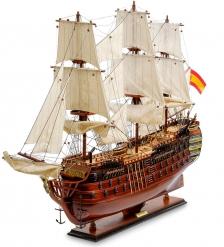 SPK-09 Модель испанского линейного корабля 1784г. «Santa Ana»