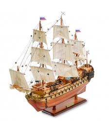 SPK-15 Модель российского линейного корабля 1715г.  Ингерманланд