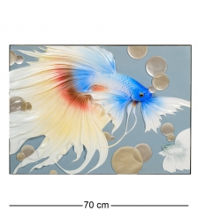 ART-105 Панно  Рыбка Вуалехвост