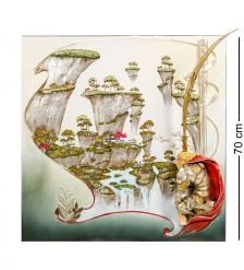 ART-109 Панно  Сунь Укун - царь обезьян