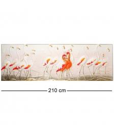ART-112 Панно «Долина фламинго»