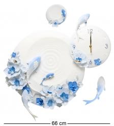 ART-217 Часы  Карпы кои