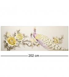 ART-307 Панно  Лавандовые павлины
