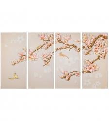 ART-310 Полиптих «Саккура в цвету»