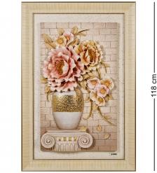 ART-311 Панно  Натюрморт с цветами
