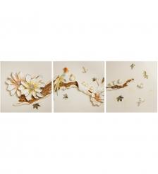 ART-315 Триптих  Райские птицы