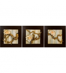 ART-316 Триптих  Желтая сакура