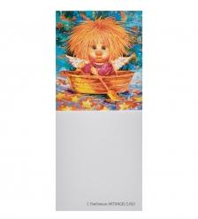 ANG-454 Виниловый магнит  Ангел надежды и веры  5х7