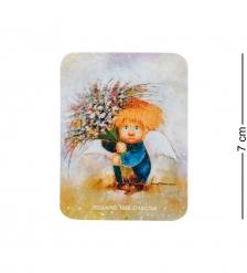 ANG-455 Виниловый магнит  Подарю тебе счастье  5х7