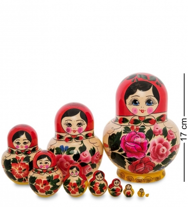МР-10/27 Матрешка 10-кукольная С  Семеновская