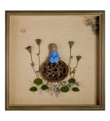 ART-405/4 Панно «Дзен медитация»