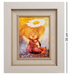 ANG-477 Жикле в багете  Ангел надежды и веры  18х24