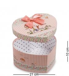 WG-54/1 Коробка подарочная  Сердце  - Вариант A