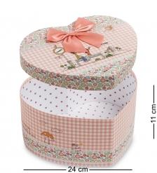 WG-54/2 Коробка подарочная  Сердце  - Вариант A
