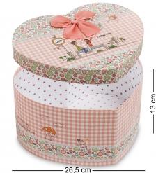 WG-54/3 Коробка подарочная  Сердце  - Вариант A