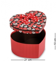WG-55/1 Коробка подарочная  Сердце  - Вариант A