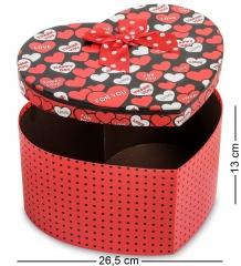 WG-55/3 Коробка подарочная  Сердце  - Вариант A