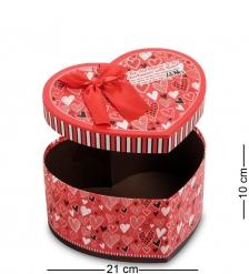 WG-56/1 Коробка подарочная  Сердце  - Вариант A