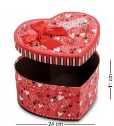 WG-56/2 Коробка подарочная  Сердце  - Вариант A