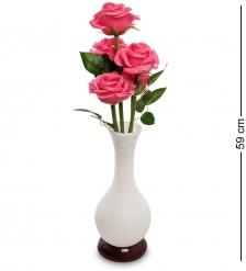 LP-06 Розы в вазе с LED-подсветкой