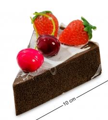 QS-01/1 Пирожное «Ягодное удовольствие»  имитация, магнит