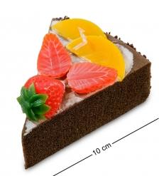 QS-01/2 Пирожное «Ягодное удовольствие»  имитация, магнит