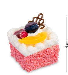 QS-22/2 Пирожное  Нежность   имитация, магнит