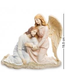 WS-424/ 1 Статуэтка «Иисус и Ангел»