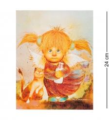 ANG-488 Жикле  Ангел изобилия  18х24