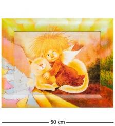 ANG-491 Жикле в раме «Ангел тепла и уюта» 30х40