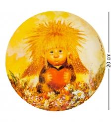 ANG-528 Тарелка  Ангел любящего сердца