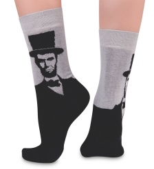 Носки креативные ASHA-0001 Abraham Lincoln 36-39  Artsocks