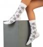 Носки креативные ASHA-0011 Mosquitos черный 40-43  Artsocks