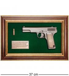 ПК-223 Панно с пистолетом «ТТ» в подарочной упаковке 25х37