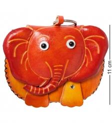 BL-09/3 Кошелёк кожаный  Слон