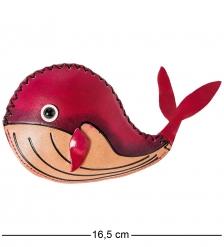 BL-25/1 Кошелёк кожаный Дельфин
