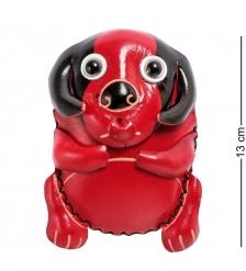 BL-48/2 Кошелёк кожаный  Собака