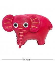 BL-53/2 Кошелёк кожаный  Слон