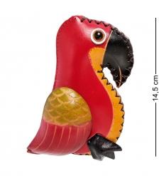 BL-56/4 Кошелёк кожаный «Попугай»
