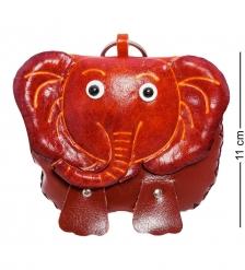 BL-09/4 Кошелёк кожаный  Слон