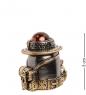 AM-2231 Наперсток  Набор Туриста   латунь, янтарь