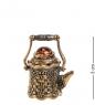 AM-2232 Наперсток  Чайник Крепость   латунь, янтарь